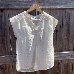 Alice Blue Stitch Fix Exclusive Sheer Blouse S
